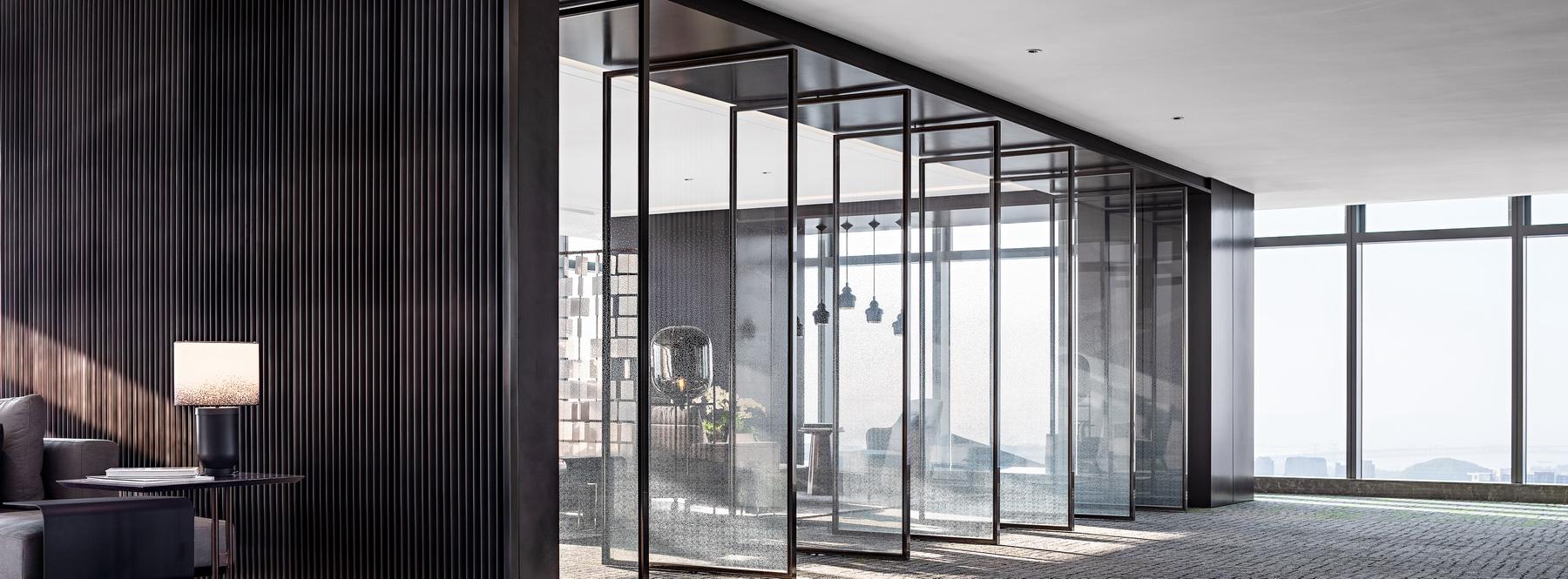深圳宏发前城办公展示中心 室内设计  /  汇格设计