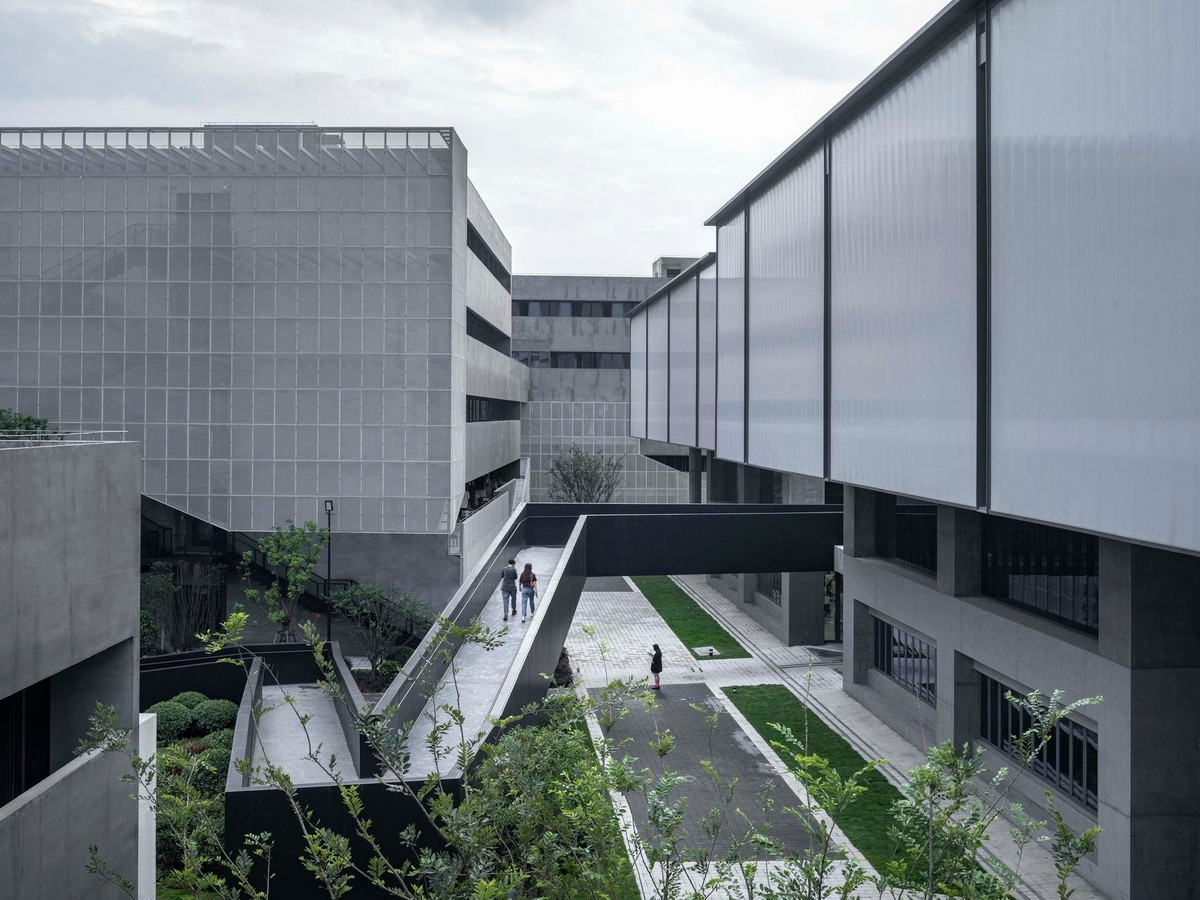 杭州老鹰画室  建筑设计 / 未觉建筑