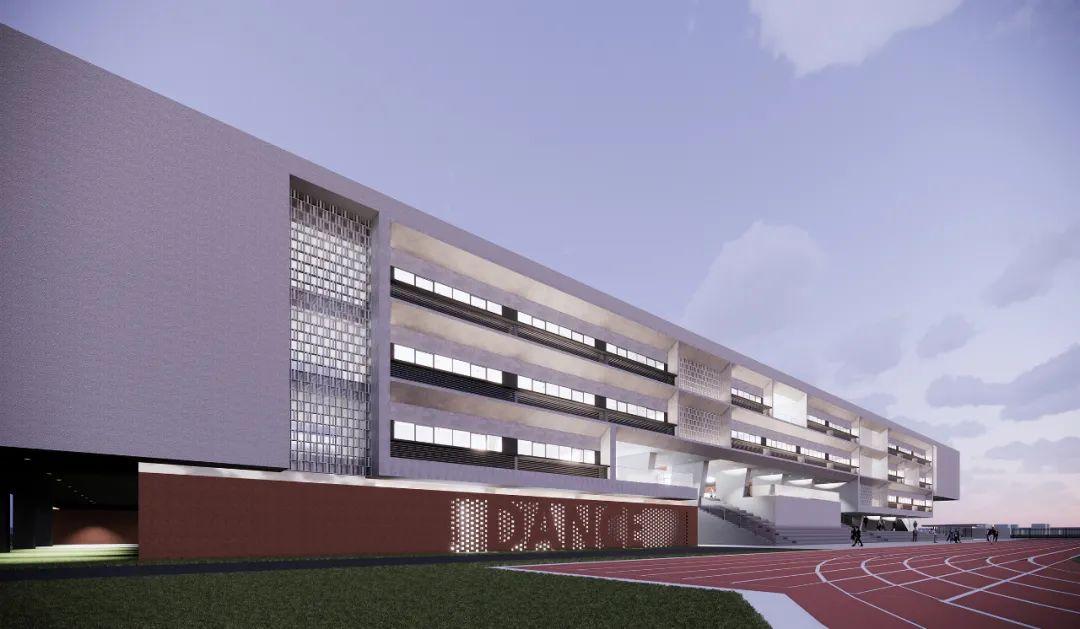 安徽 九年一贯制学校  建筑设计 / 厚石设计