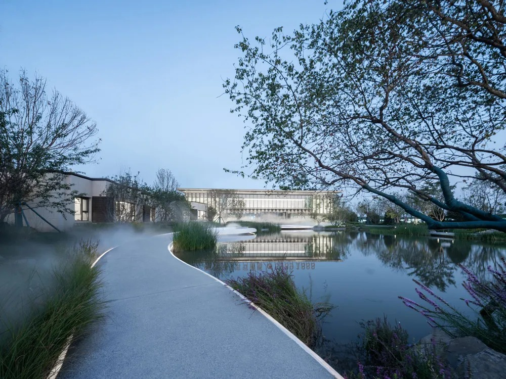 雅居乐滨河雅郡展示区  景观设计  /   阿普贝思景观设计