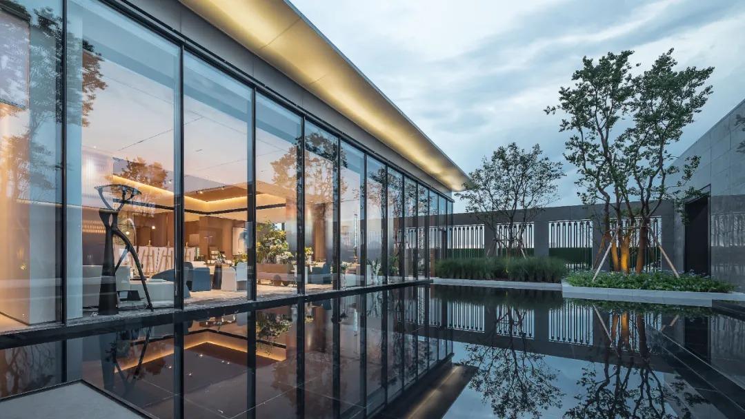 杭州浦阳旭辉珺和府 营销中心  建筑设计 / 原构国际设计顾问
