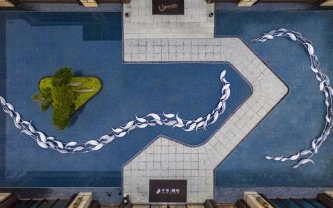 即墨中南樾府示范区  景观letou国际米兰下载 /  天华景观