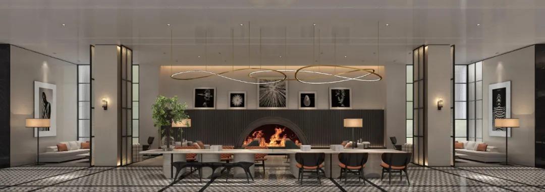 西安万科·金域缇香售楼中心  室内设计 /  李益中空间设计