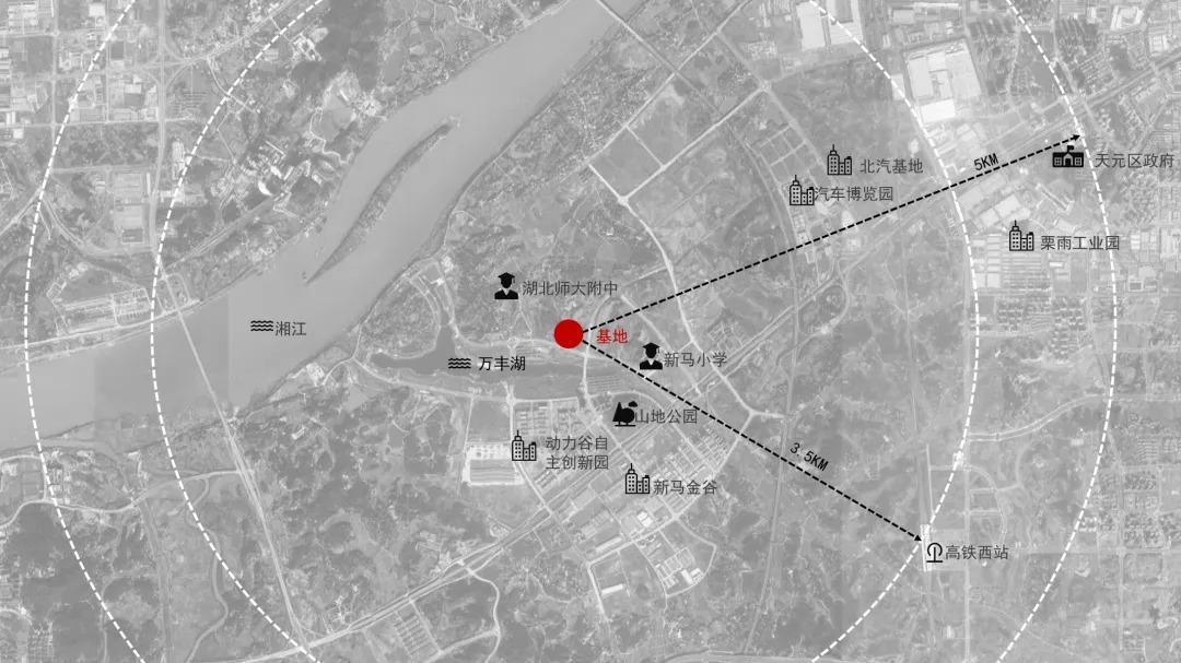 株洲蔷薇熙岸科技体验馆 建筑设计 /  成执设计