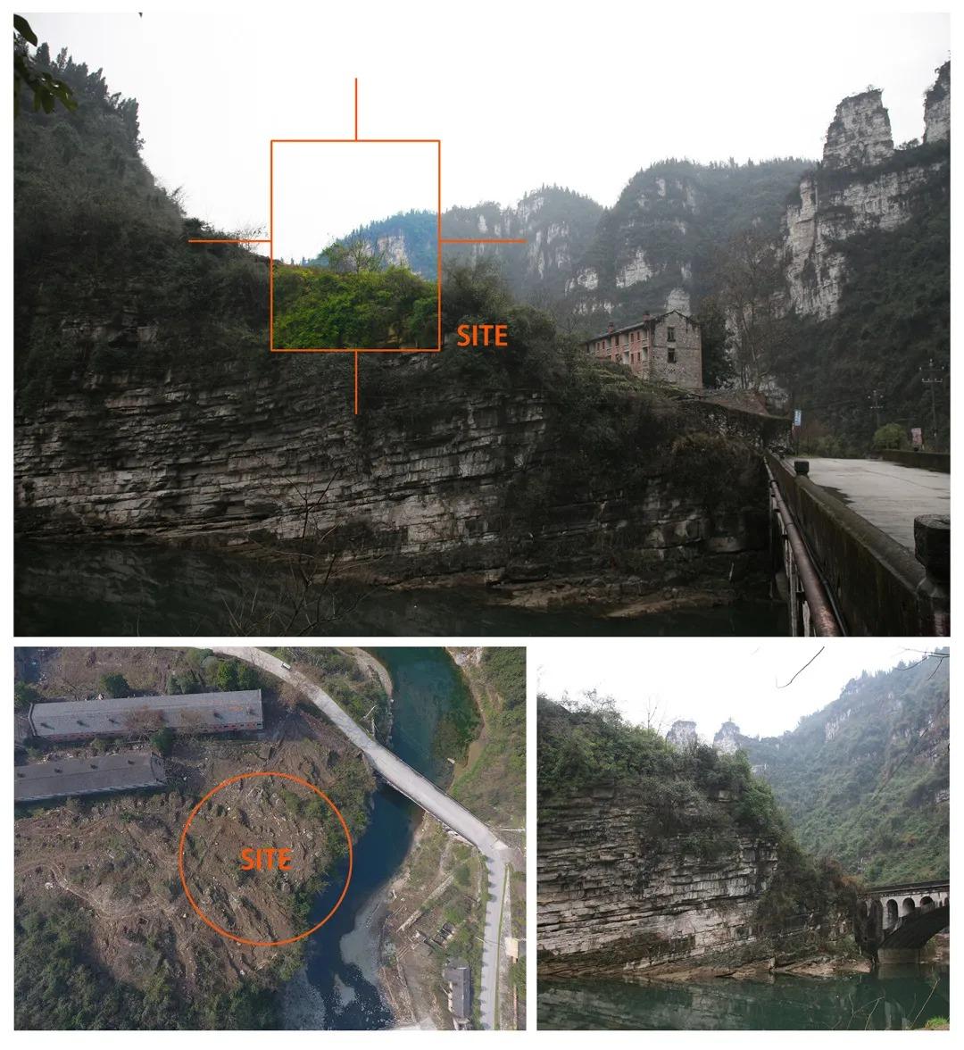 宜昌 崖顶茶吧—809兵工厂遗址改造设计  /  三文建筑