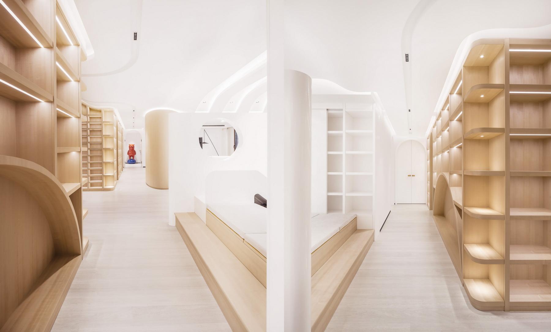 云朵与树洞,女博士的家 室内设计  /  立木设计
