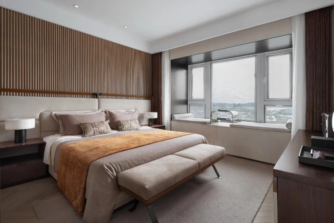 上海 万科 莱茵半岛 叠墅样板间 室内设计  /  牧笛设计
