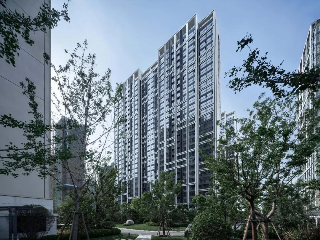 郑州永威西郡金桂苑+微棠大厦 建筑设计  /  日清设计