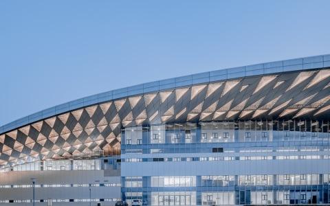 北京理工大学良乡校区文化体育中心 建筑letou国际米兰下载 / 时境建筑