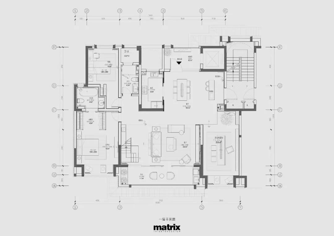 常州路劲雅居乐Y-6样板间    室内设计 /  矩阵纵横