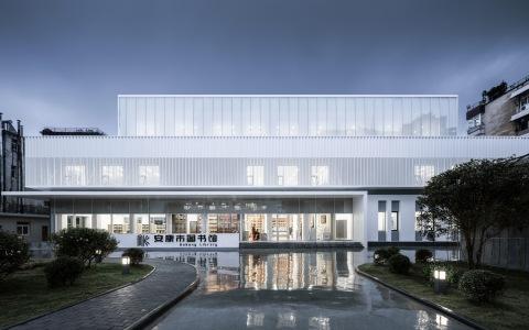 安康市图书馆改造 室内letou国际米兰下载 /  UUA建筑师事务所