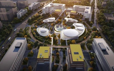 北京怀柔科学城城市客厅A 地块 建筑letou国际米兰下载  /   hpp