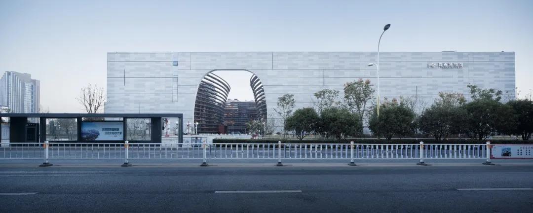 嘉善博物馆、图书馆 建筑设计 / UAD浙大设计
