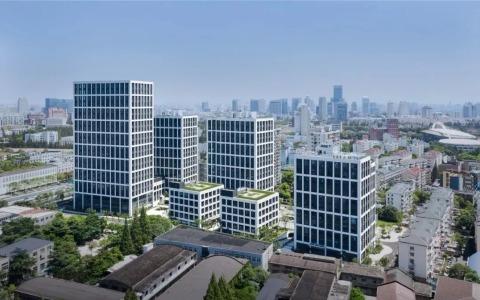 上海城创金融科技国际产业园 建筑letou国际米兰下载 / CPC建筑letou国际米兰下载