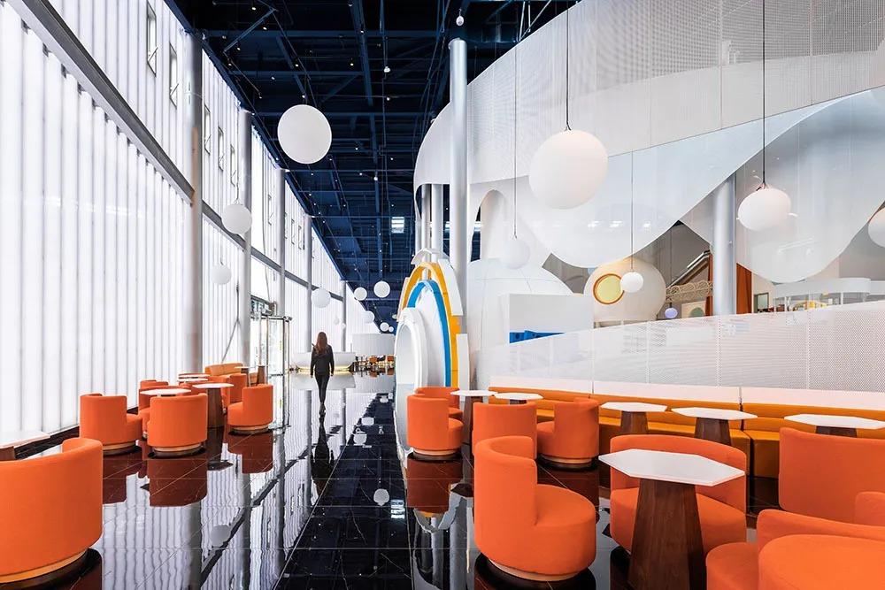 廊坊三叶公园营销体验中心——Instant Peak未来舱  建筑设计 /  Wutopia Lab