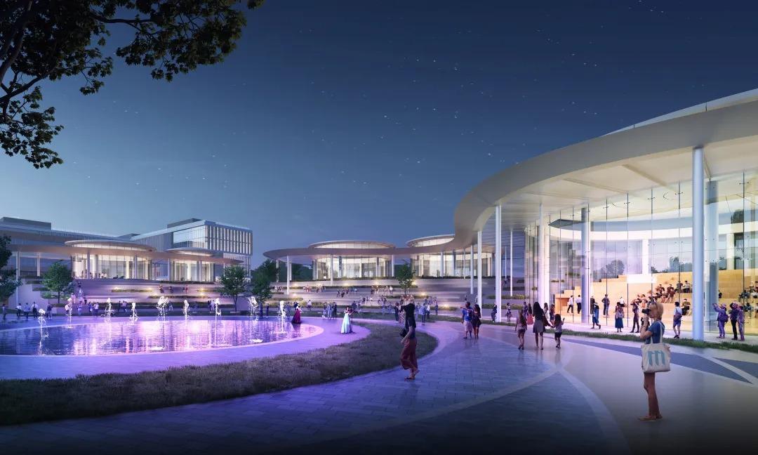 北京怀柔科学城城市客厅A 地块 建筑设计  /   hpp