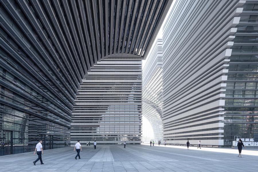 常州文化广场  建筑设计  /  gmp