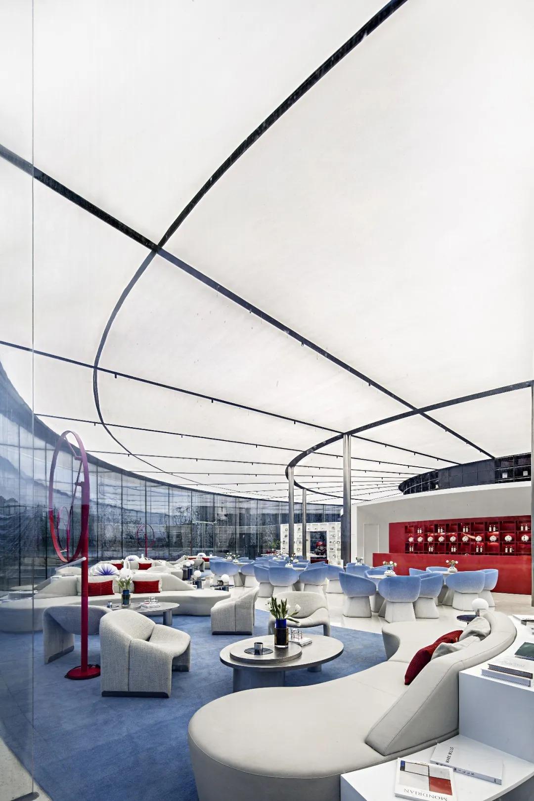 南昌旭輝中心 营销中心 室内设计 /  矩阵纵横