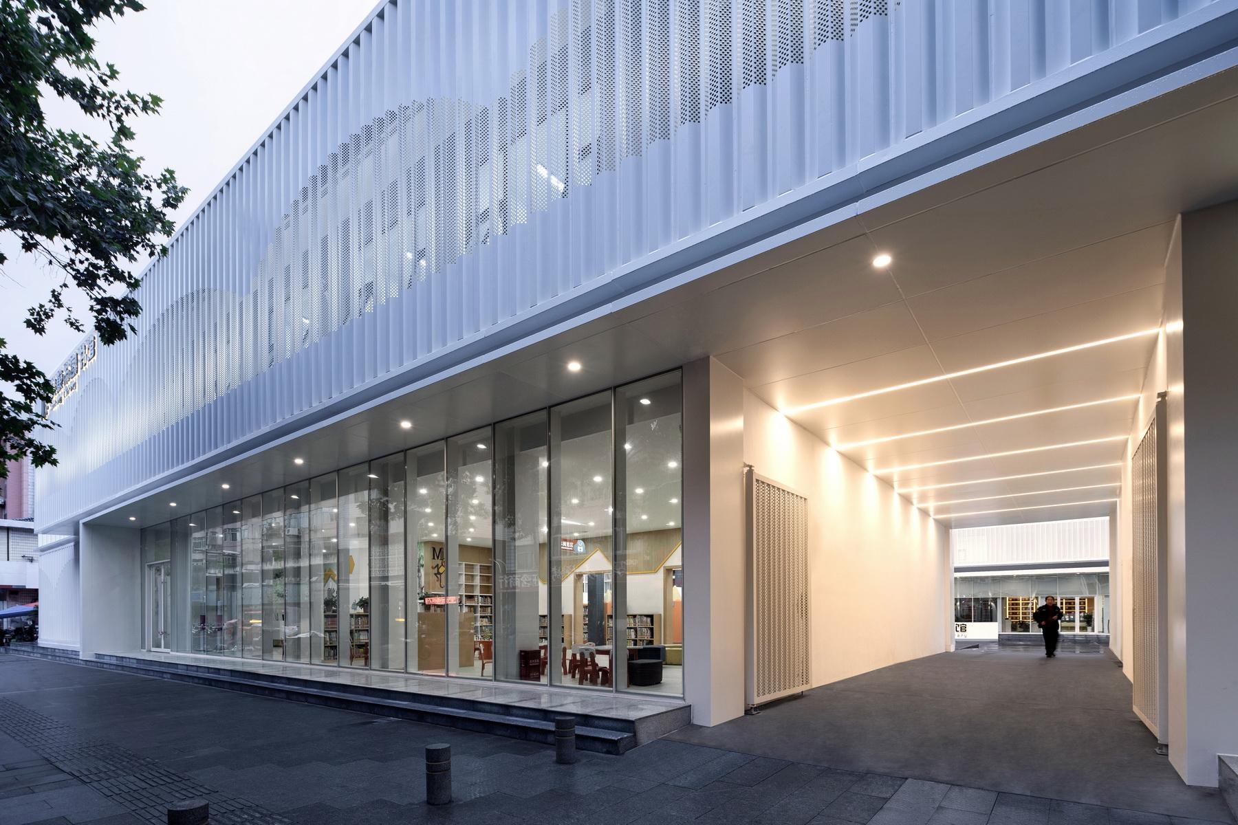 安康市图书馆改造 室内设计 /  UUA建筑师事务所