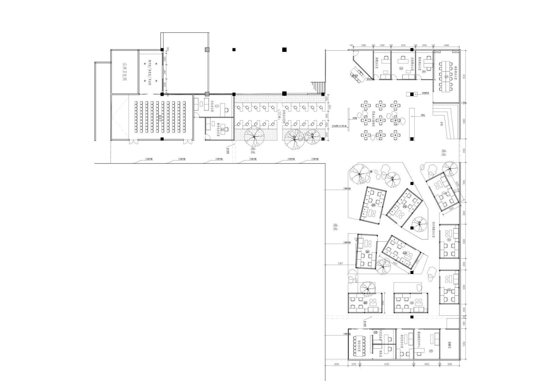 寰盟东南亚设计中心办公空间 室内设计 /  长空创作