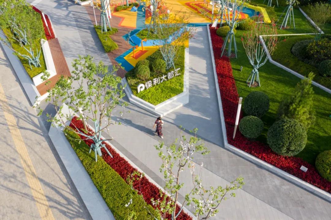 兰州保利大都汇  景观设计 /  奥雅设计