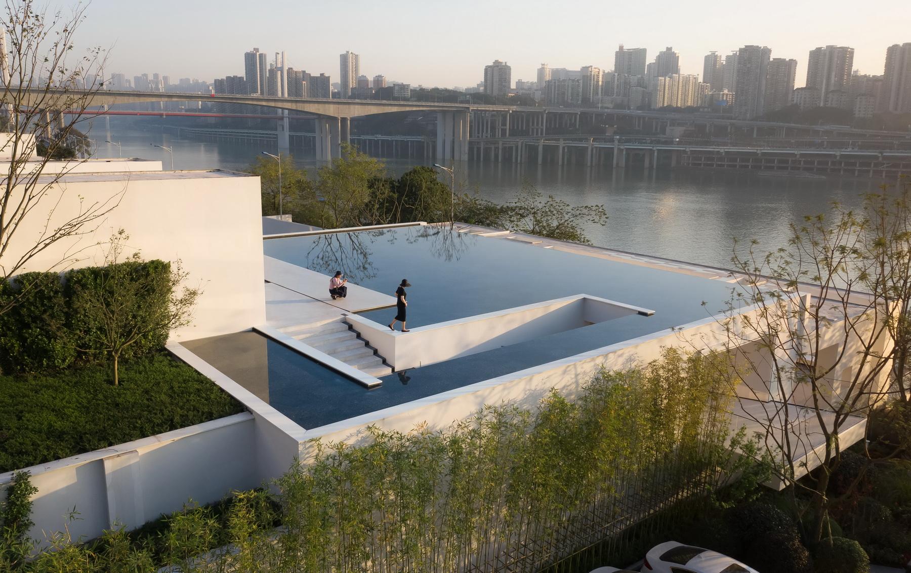 重庆 中粮天悦壹号·流水美术馆  建筑设计 /  水石设计