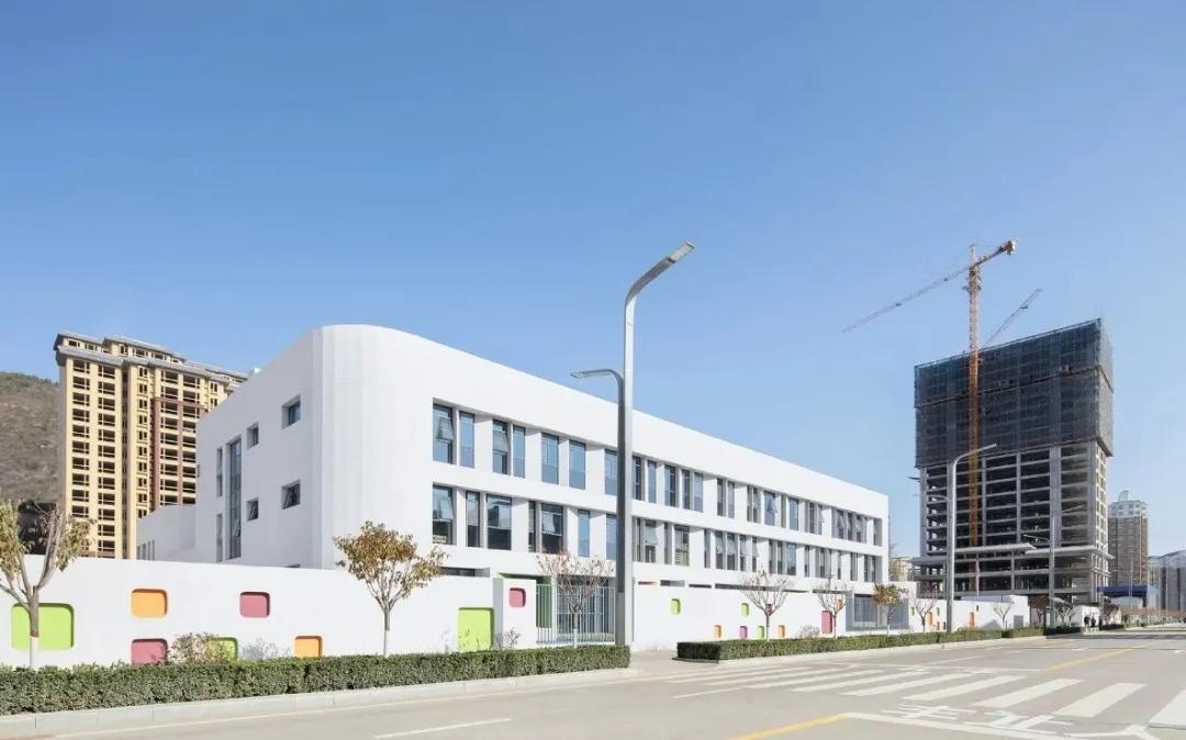 黄陵县新区幼儿园  建筑设计 /  北京市建筑设计研究院