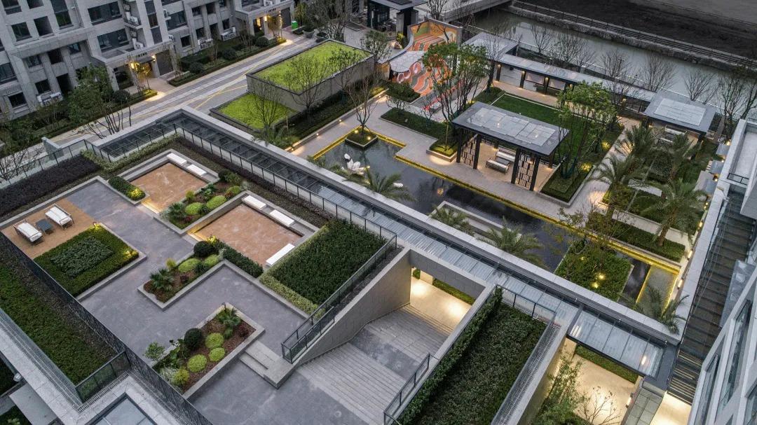 宁波 金地·华著 景观设计 /  伍道国际