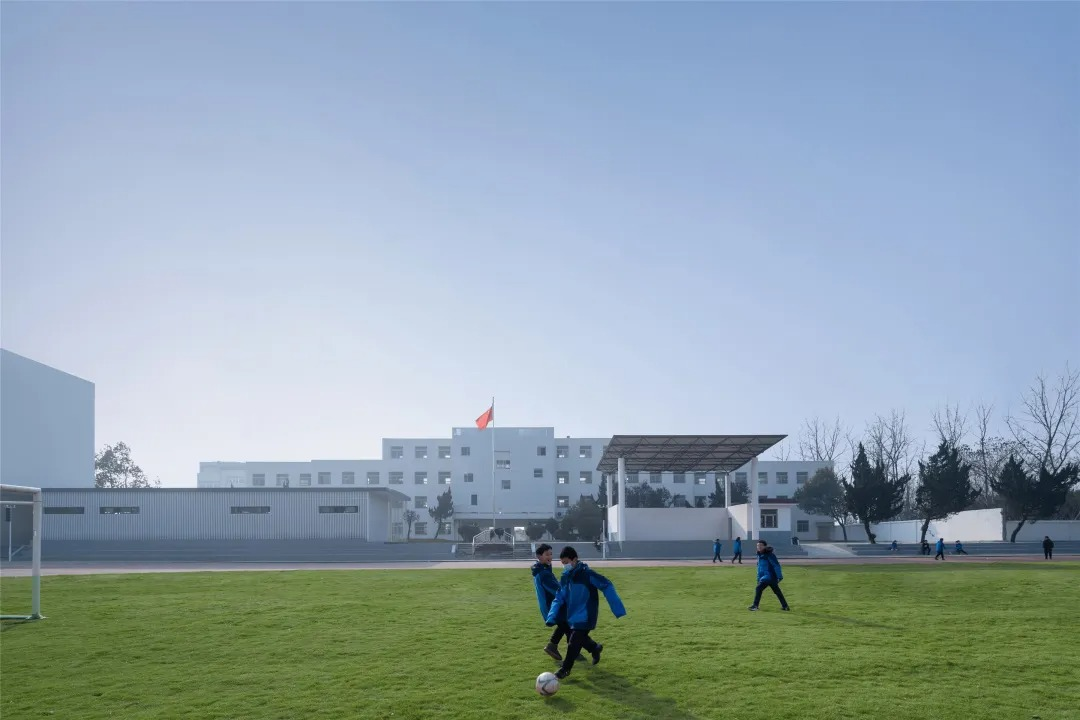 全椒县新锐古河中学改造 建筑设计 / 上海思序建筑规划设计