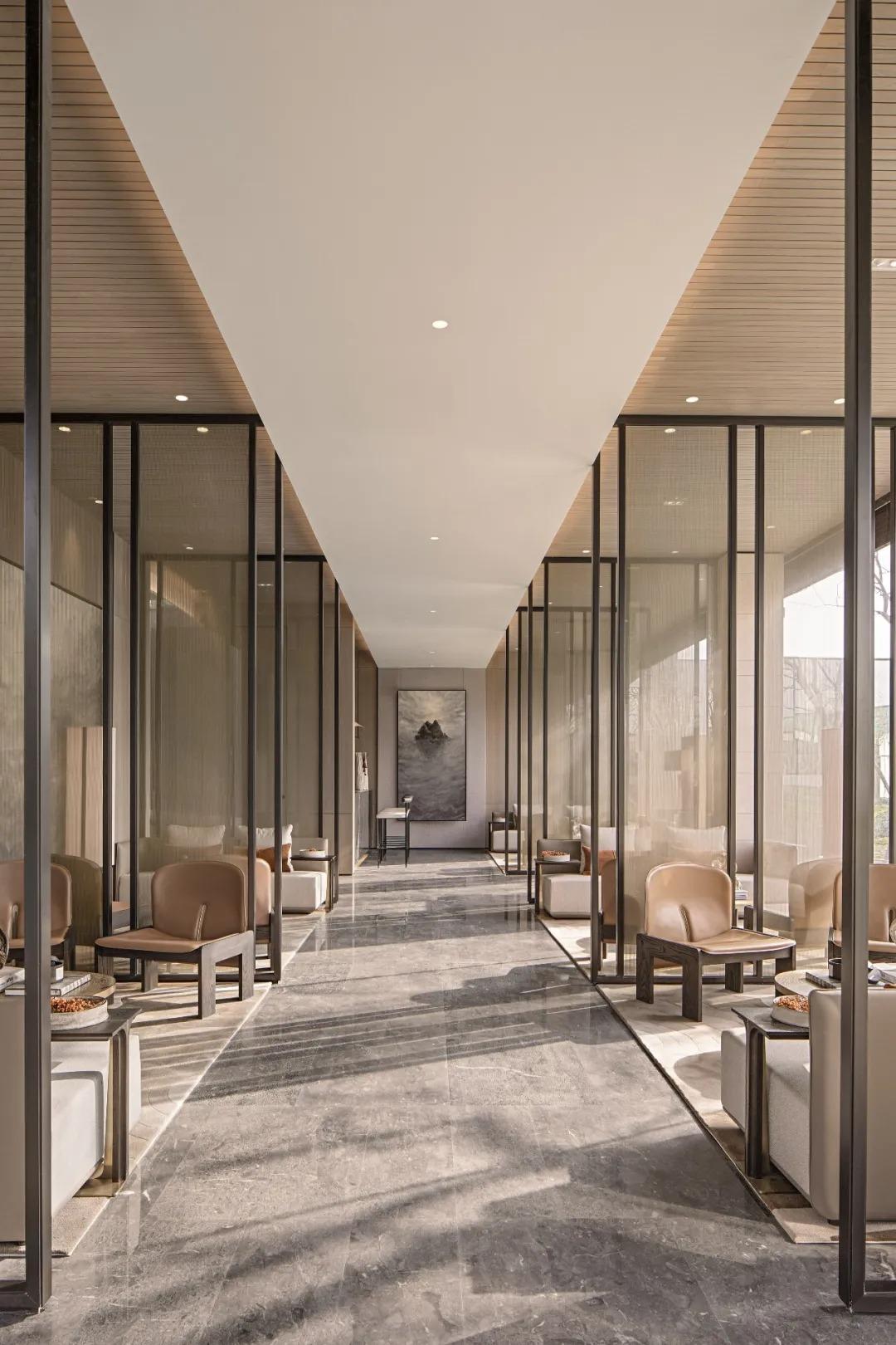上海金地西郊风华    室内设计 /  矩阵纵横