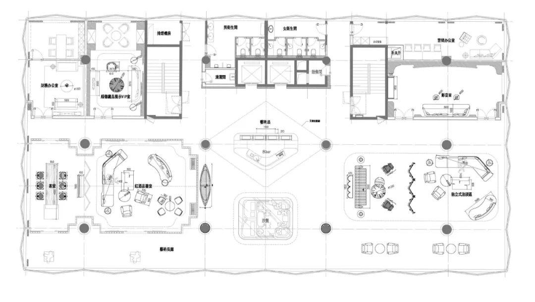 宝能·佛山云境台售楼处 室内陈设设计 /  GRAVITY万有引力设计
