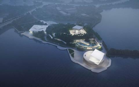 松山湖科技交流平台 建筑letou国际米兰下载 /  迹·建筑事务所(TAO)