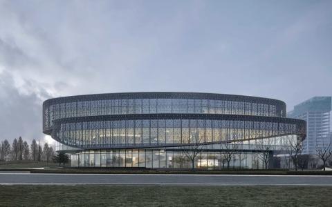 青岛融创海洋活力区未来展示中心  建筑letou国际米兰下载 /   AAI国际建筑