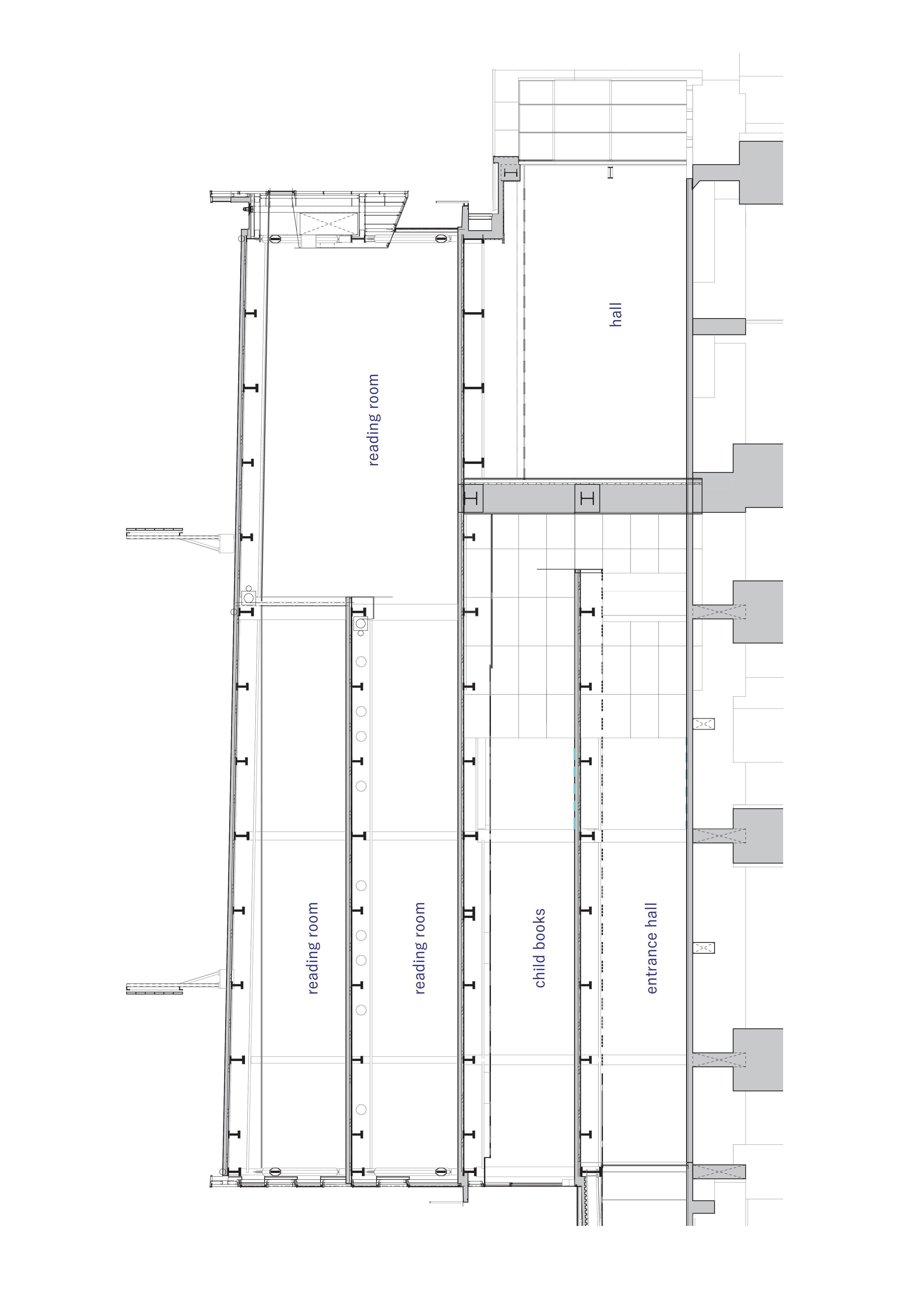 福冈 Librio行桥 图书馆 建筑letou国际米兰下载 /  三上建筑事务所