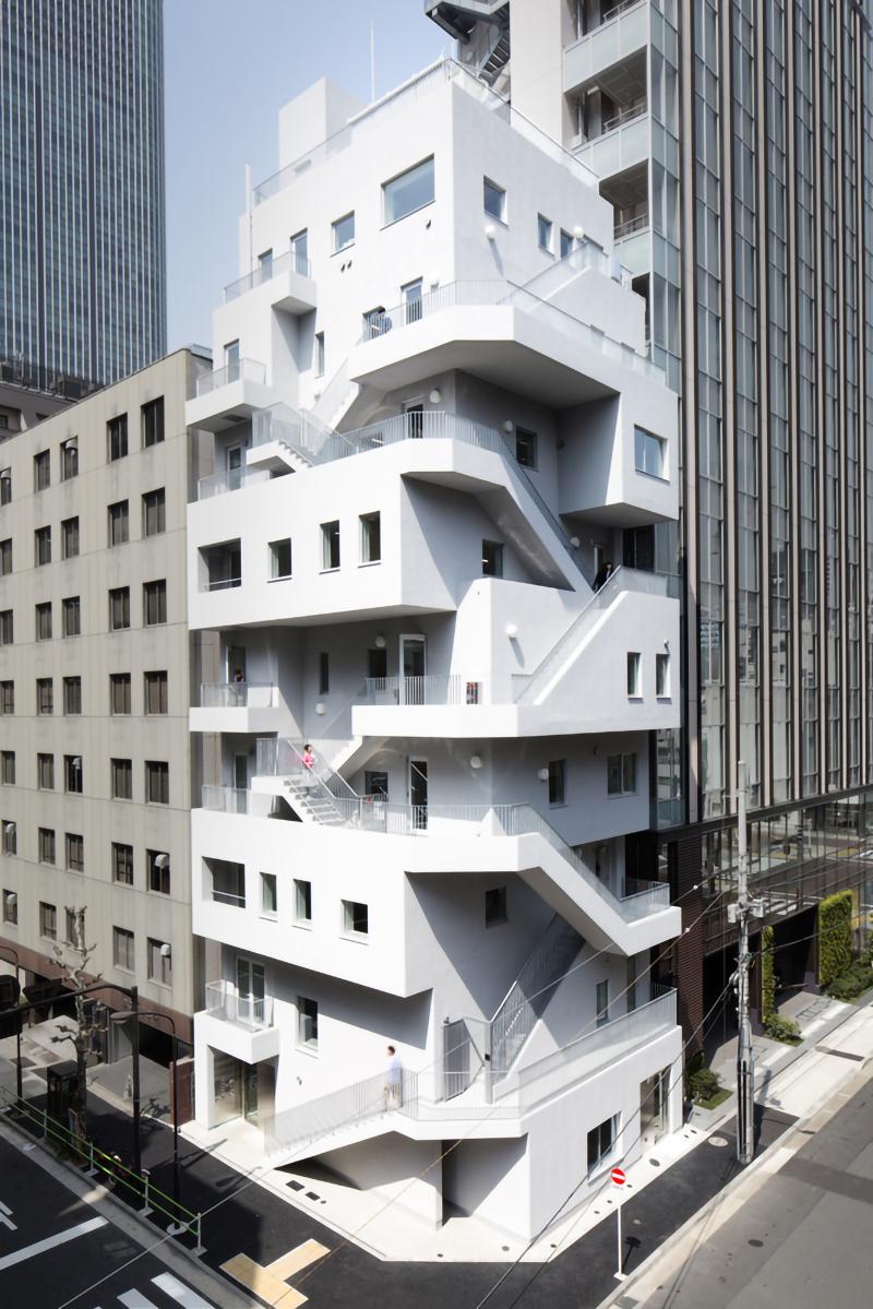 东京 荒川大厦 建筑设计 / 日建设计