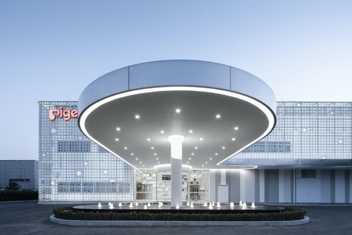 上海 贝亲办公基地 改造设计 /  COLORFULL 昱景设计