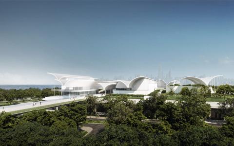 深圳红树林湿地博物馆项目  国际竞赛 建筑letou国际米兰下载  / 迹·建筑事务所(TAO)+AECOM