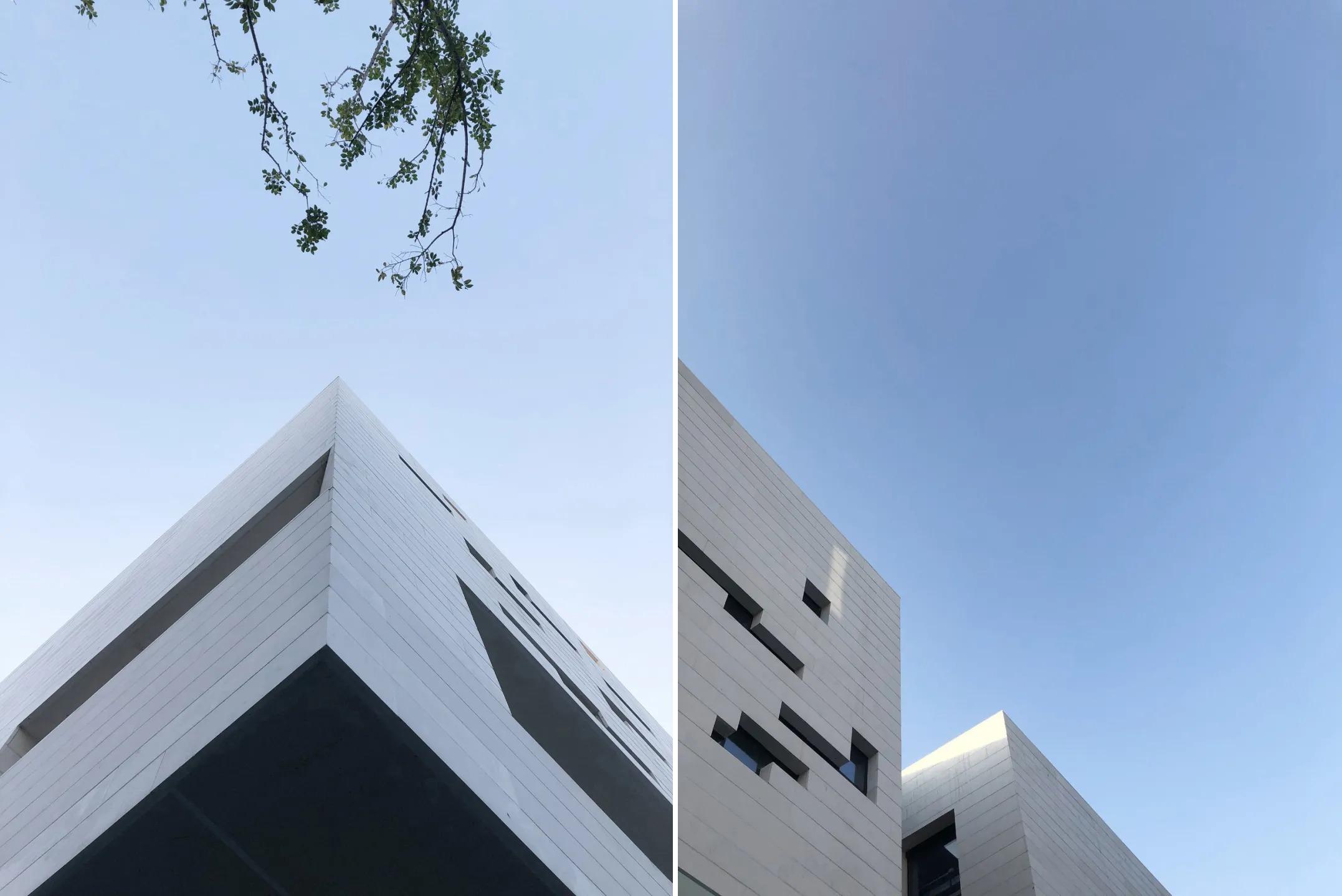 崇明东滩云墅 展示中心 建筑设计 / 日清设计
