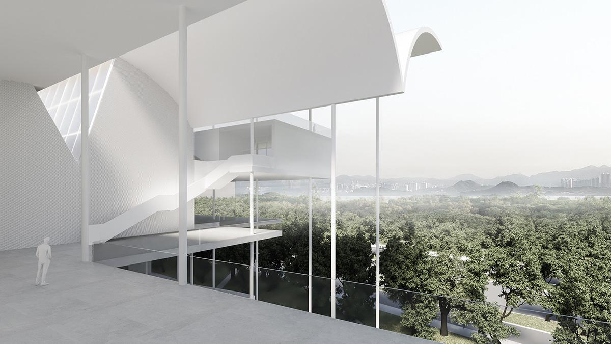 深圳红树林湿地博物馆项目  国际竞赛 建筑设计  / 迹·建筑事务所(TAO)+AECOM