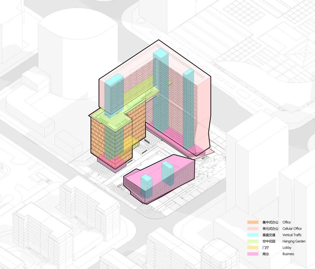 台州Z中心 建筑设计 /  gad