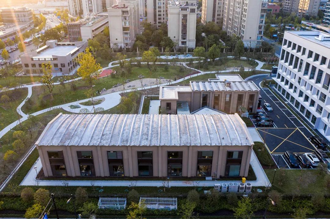 杭州化纤厂旧址  改造设计 /  零壹城市建筑事务所
