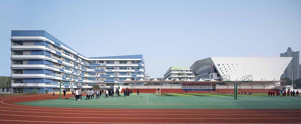 成都新世纪外国语学校光华校区 建筑设计 / 中筑华恺建筑设计