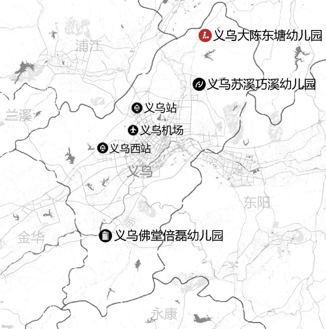 义乌市大陈镇东塘幼儿园  建筑设计 /  思序作品
