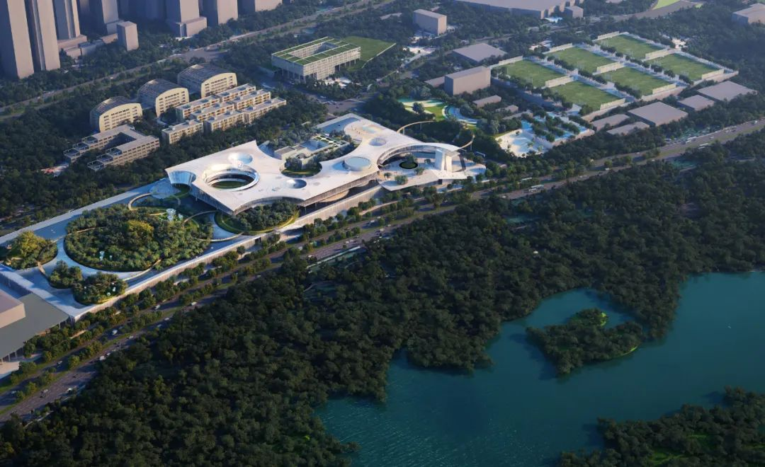 深圳红树林湿地博物馆 建筑设计 /  深圳华汇设计 × 玛莎·舒瓦茨事务所