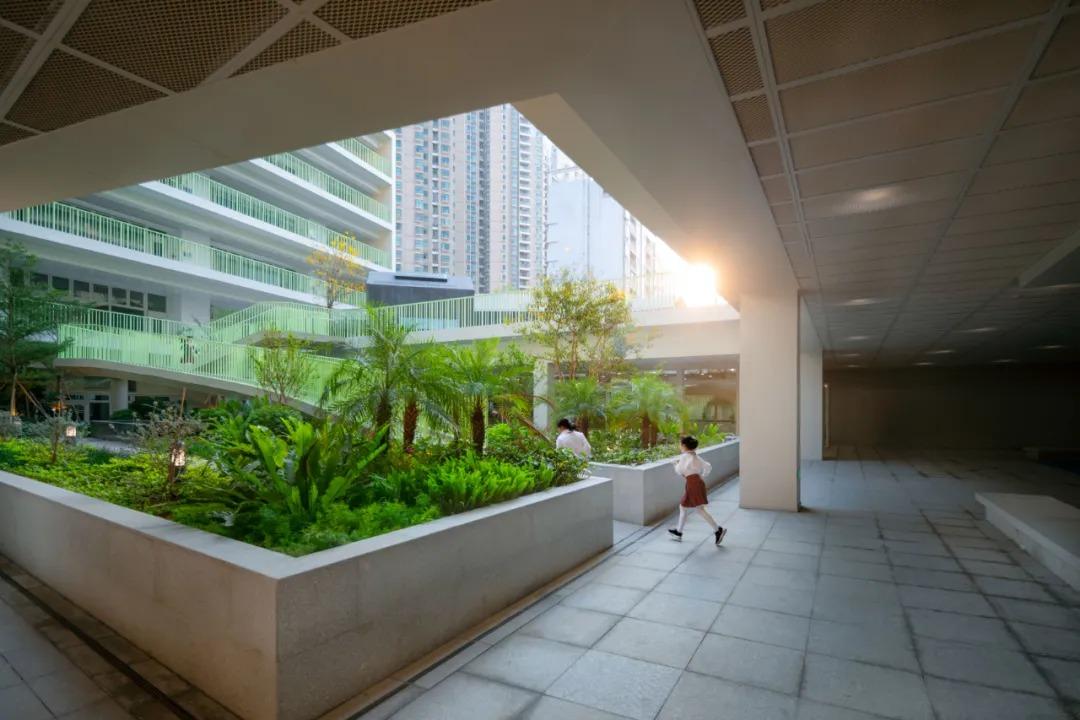 深圳新沙小学 景观设计 / GND杰地景观