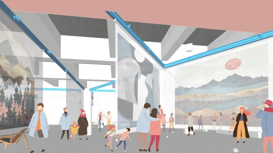 交大包玉刚图书馆空间改造设计 /  奥默默工作室