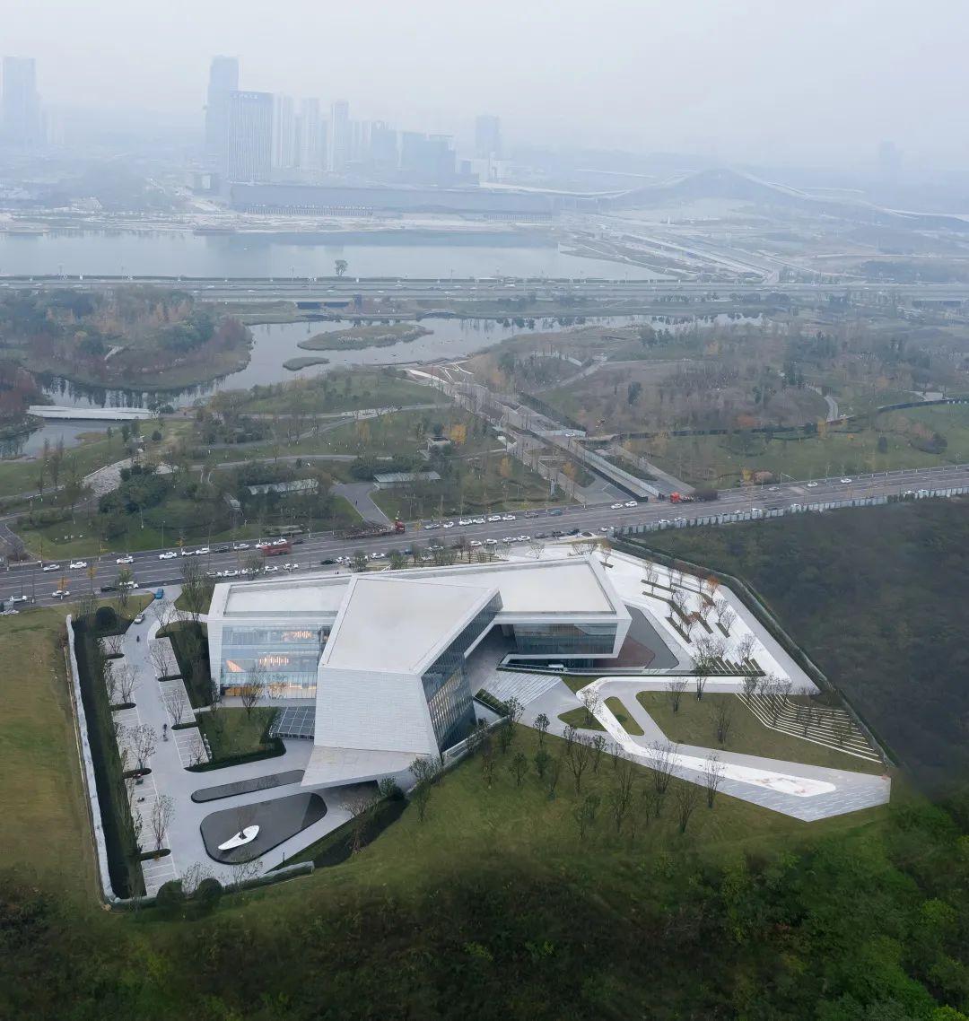 成都招商天府新区城市规划展览馆 建筑设计 / AAI国际建筑