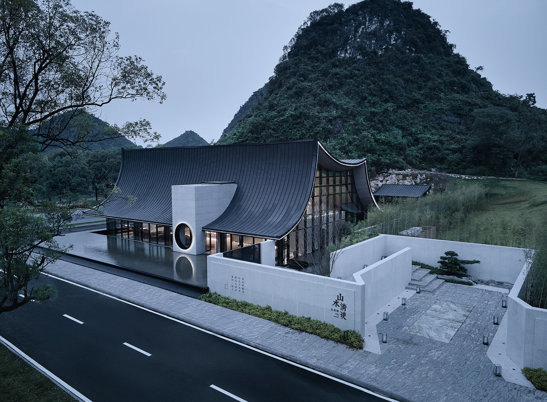 桂林阳光100·围炉山谷 建筑设计  /  骏地设计