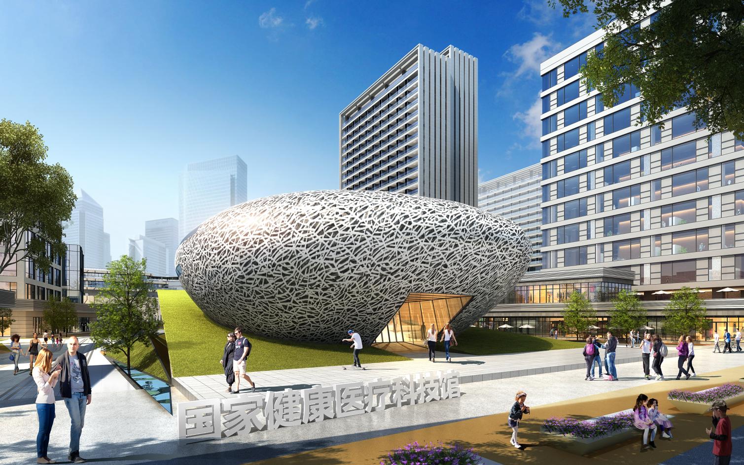 福州 东湖数字小镇 建筑设计  /  骏地设计