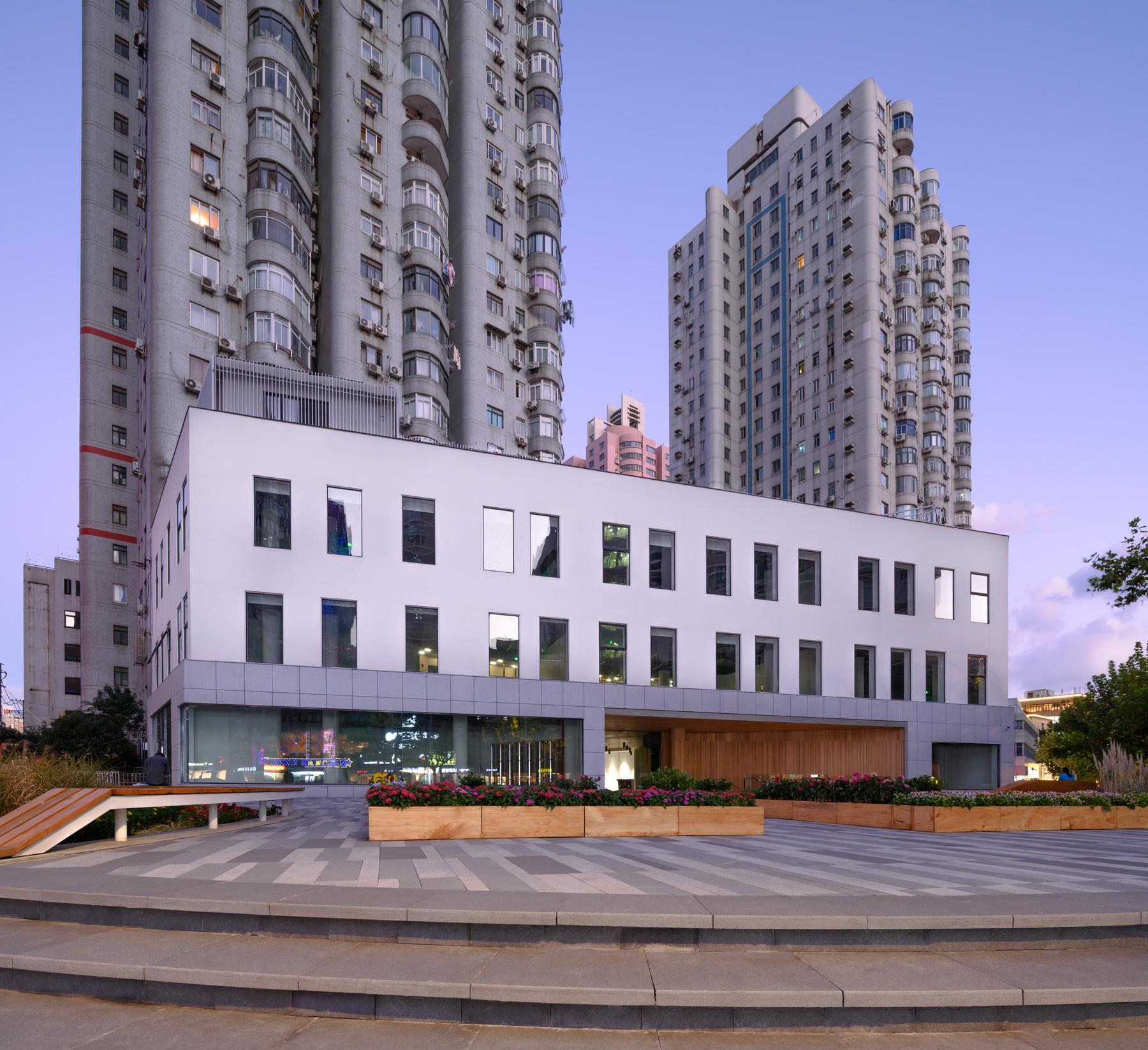 上海新微智谷 建筑设计  /  上海三益